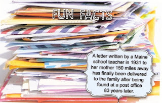 Fun facts postcard from Autumn