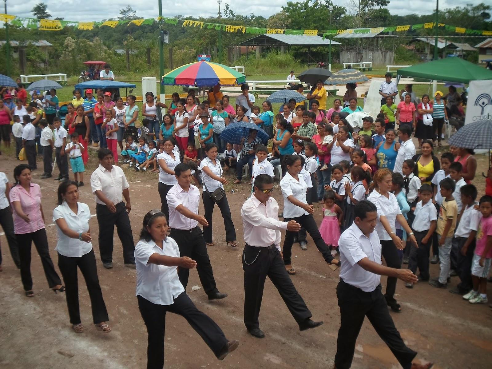 475f59a7cb El día de hoy el Centro Poblado de Boquerón celebro su 16 aniversario de  creación