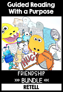Guided Reading with a Purpose Friendship Bundle
