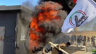 المحتجون يقتحمون السفارة الأمريكية في بغداد