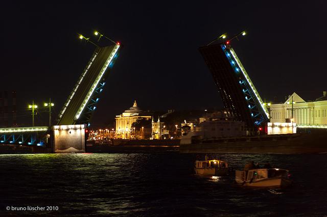 ponte Dvordovyj san pietroburgo