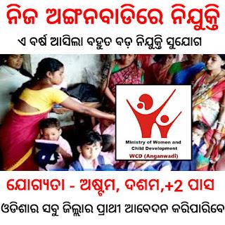 Odisha Anganwadi Recruitment 2021, Online Apply - News Lens Odisha