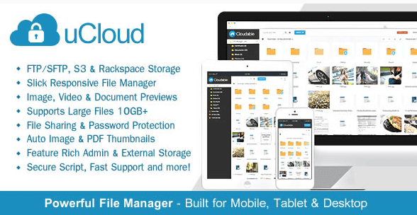 Download Free uCloud v1.5.1 – Powerful File Hosting PHP Script