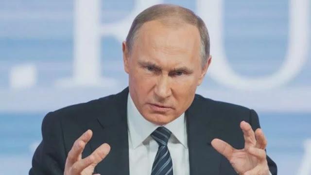 Putin Ketawa Dengar Menterinya Ekspor Babi ke Indonesia