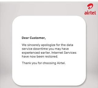 Get Free 200mb up to 1gb Data from Airtel