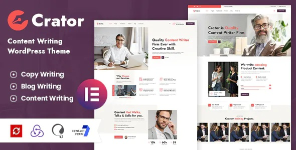 Best Content Writer WordPress Theme