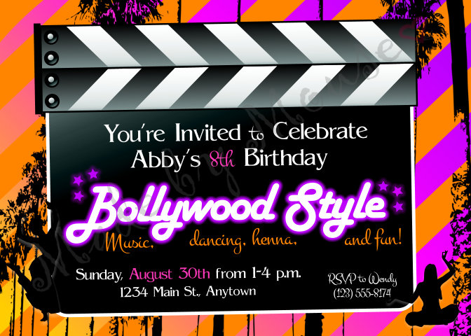 Kids Party Invitations Made By Mouse