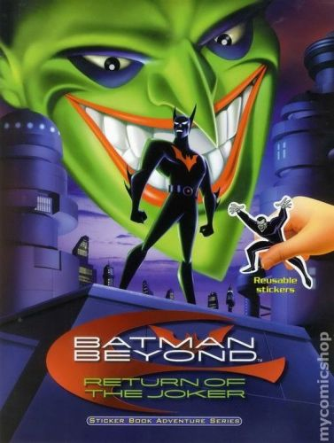 Batman Beyond Return Of The Joker 2000 Dual Audio Hindi 250MB BluRay 480p x264