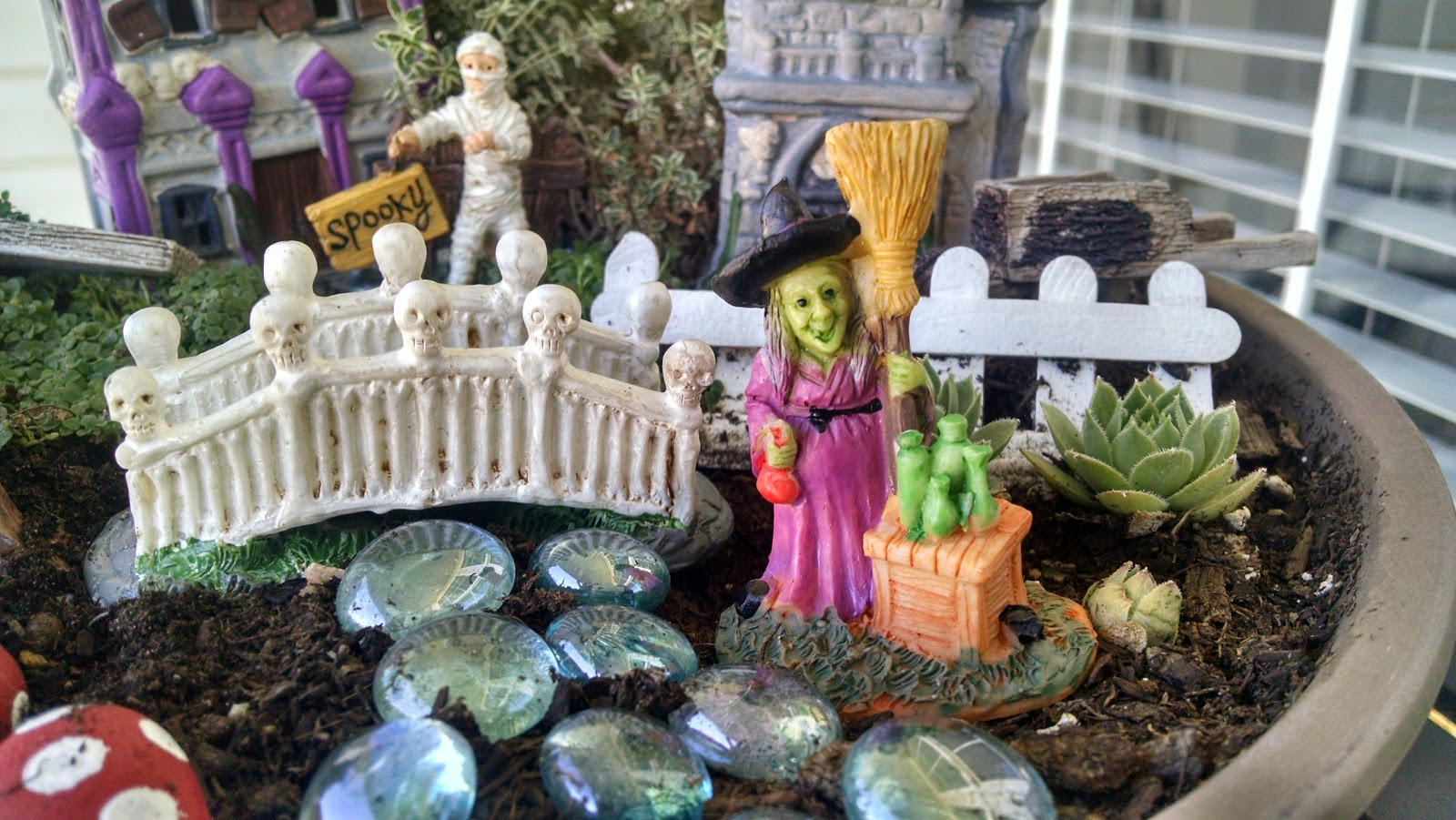 must run in the family halloween fairy garden