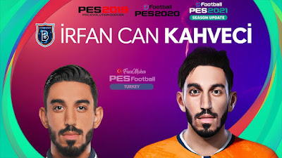 PES 2021 Faces İrfan Kahveci by PES Football Turkey