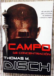 Portada del libro Campo de concentración, de Thomas M. Disch