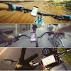 Fine EYUVAA LABEL Universal Adjustable Silicon Bike Phone Mount Holder