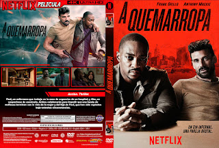 A QUEMARROPA – POINT BLANK – 2019 [COVER – DVD]