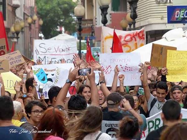 Huelga Educativa 9 marzo, Las Palmas de Gran Canaria