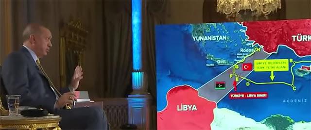 Η Τουρκία ανακοίνωσε έρευνες και γεωτρήσεις νότια της Κρήτης