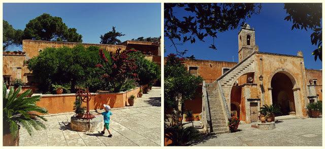 Monastyr Agia Triada klasztor na Krecie