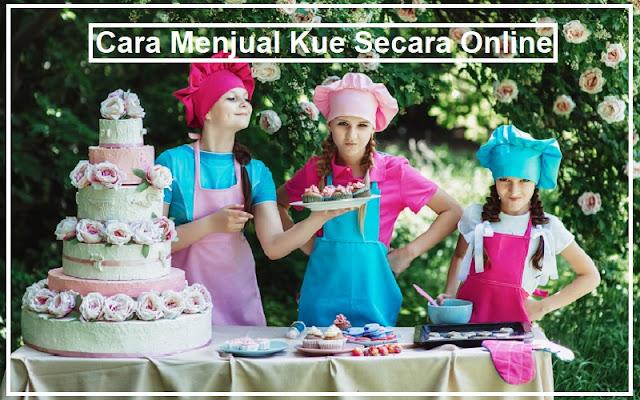 menjual kue secara online