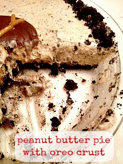 -bake peanut butter pie is so easy to make! The hint of peanut butter ...