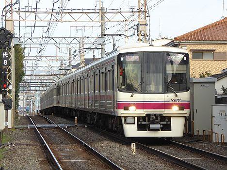 京王電鉄 準特急 高尾山口行き7 8000系