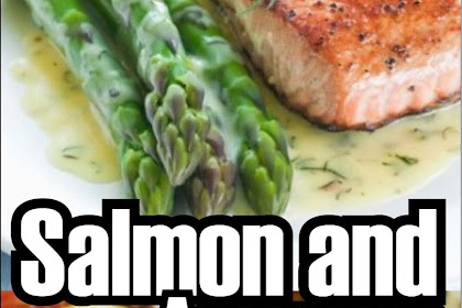 Salmon And Asparagus With Butter