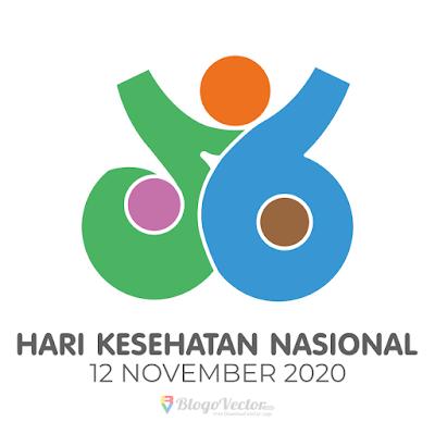 Hari Kesahatan Nasional ke-56 (2020) Logo Vector