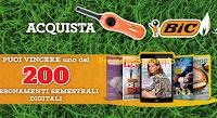 Logo BIC ''Accendi la primavera'' e vinci 200 abbonamenti semestrali della rivista preferita