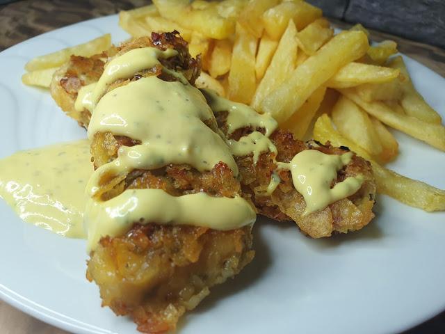 Filety z kurczaka w chipsach
