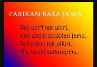 Kumpulan Pantun Jowo Atau Parik'an | Contoh Pidato ...