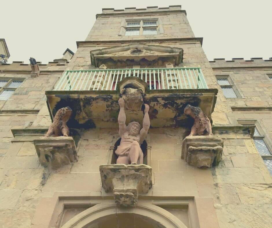 Fascinating English Heritage Castles To Visit In The East Midlands | See fantastic sculptures around Bolsover Castle.