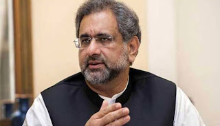 Shahid Khaqan Abbasi challenges NAB to fabricated charges against family