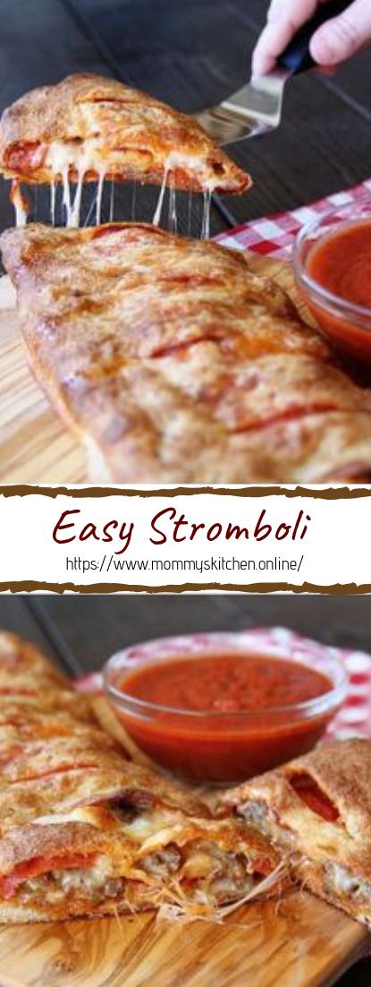 Easy Stromboli #dinnerrecipe #food #amazingrecipe