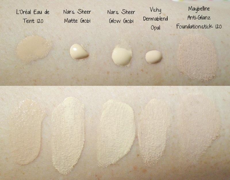 gelbstichiges make up