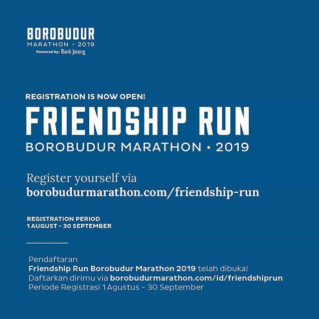 Borobudur Friendship Run • 2019