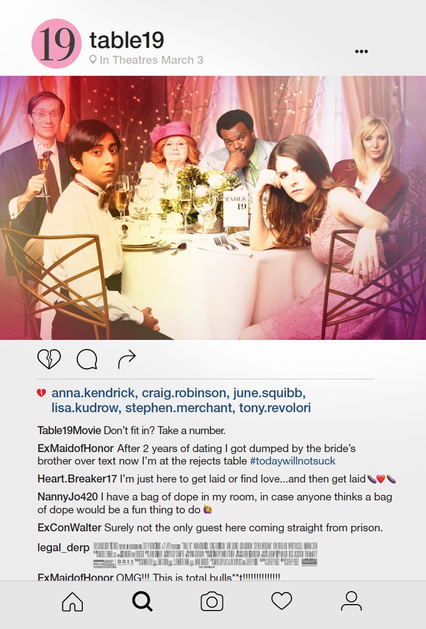 Related Movies Table 19 2017