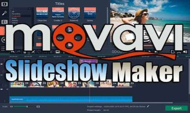 تحميل برنامج Movavi Slideshow Maker Portable نسخة محمولة مفعلة اخر اصدار