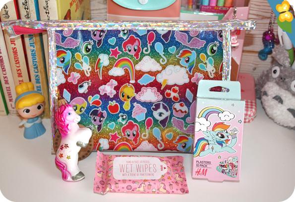 Trousse et pansements My Little Pony - Décoration de noël et lingettes licorne