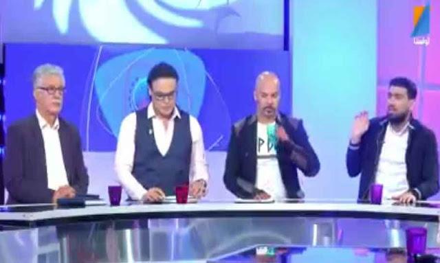 تونس: حضور حمة الهمامي في برنامج 'الكل في الكل' ... يثير الجدل hamma hammami ahnakol tunisnatv