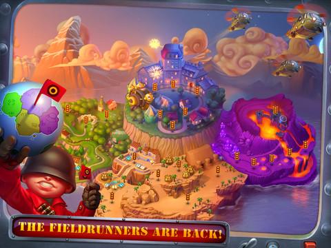 iOS Game] Fieldrunners 2 HD v1.3 Free