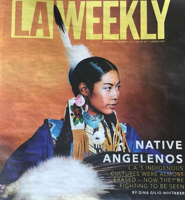 Kayla Briët on LA Weekly Cover