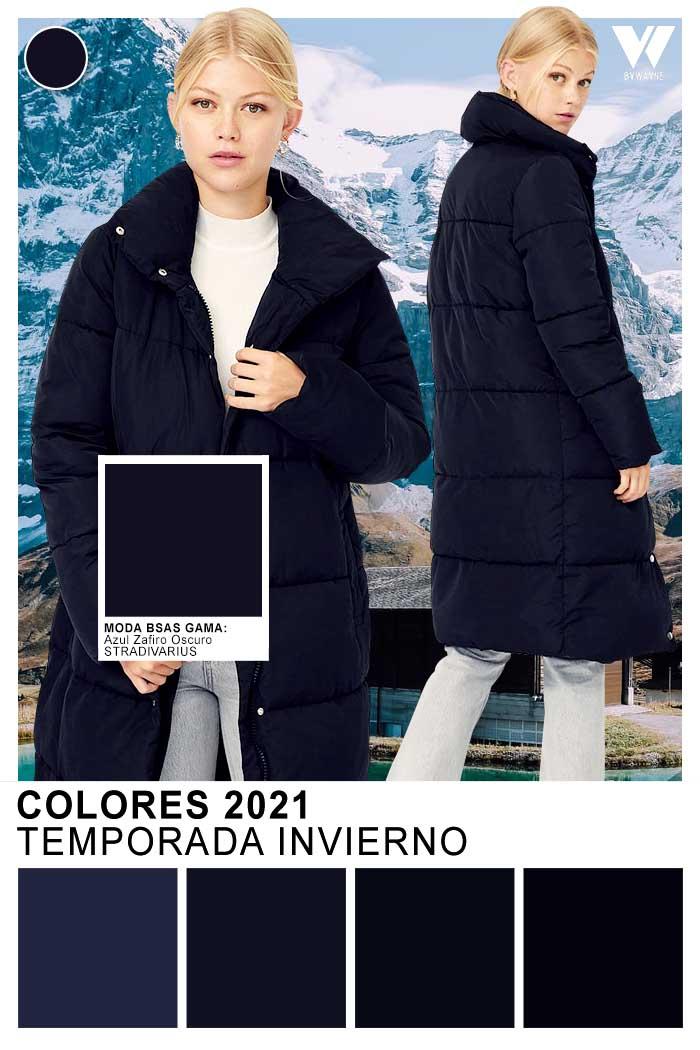 El negro es un clasico absoluto. Colores de moda invierno 2021