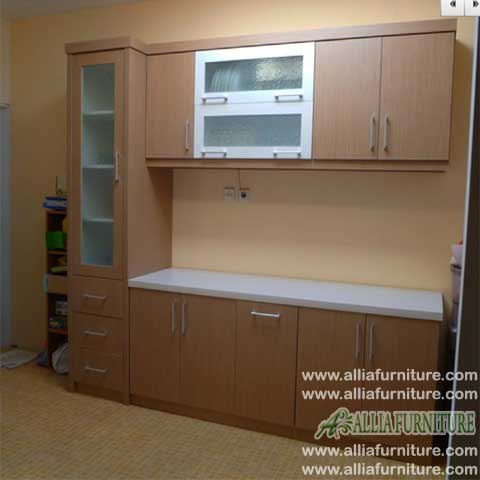 kitchen set minimalis single line esse