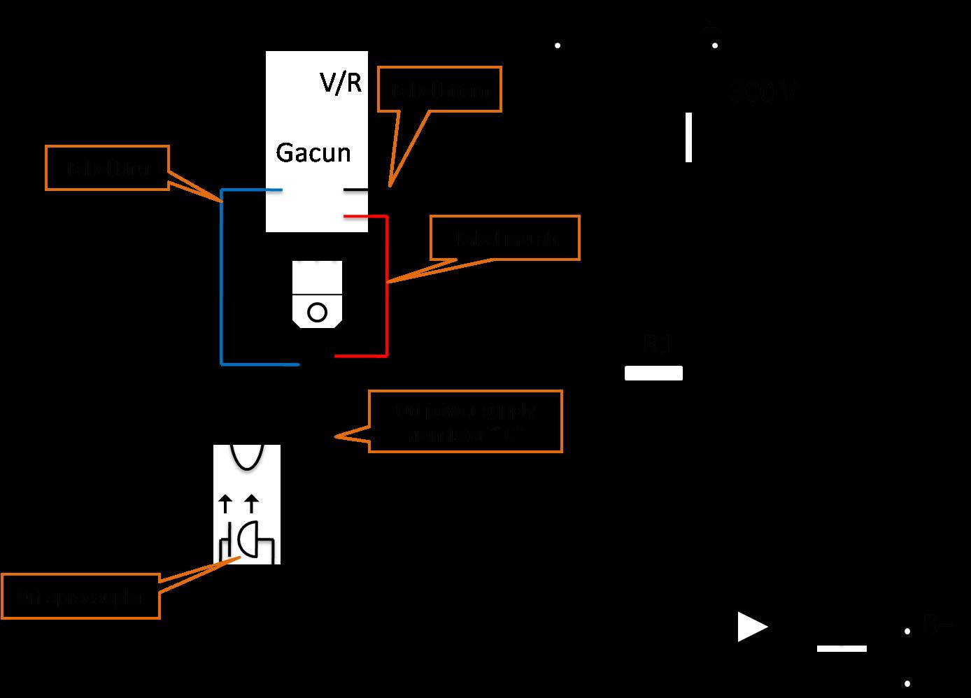 Cara Memasang 3 Kabel Modul Power Supply Universal/Gacun