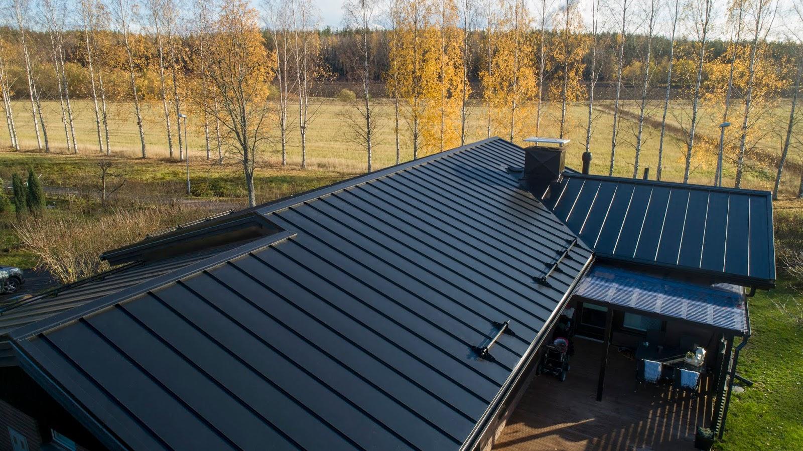 Meidän uusi katto