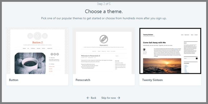 Memilih Theme Wordpress