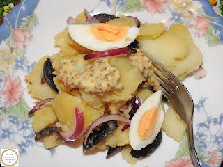 Salata orientala cu mustar reteta,