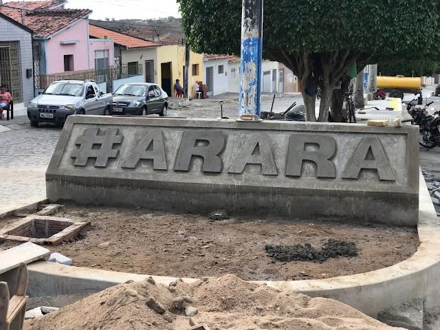 Em Arara: Obras de Praça perto de concluir