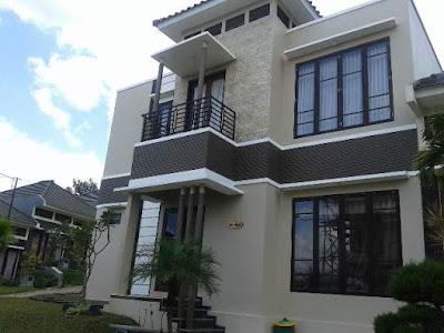 Villa M 45 Fasilitas Kolam Renang di Kota Batu Malang