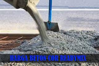 Harga beton Readymix