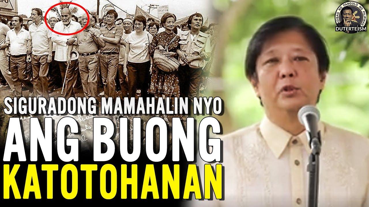 Dahilan Kung Bakit Mas Mamahalin natin ang Pamilyang Marcos