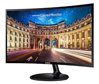 Monitor Komputer Samsung 27 Inch LED seri LC27F390FHE